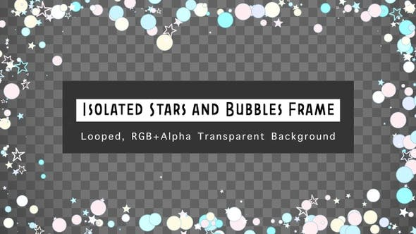 Thumbnail for Isolated Stars And Bubbles Frame