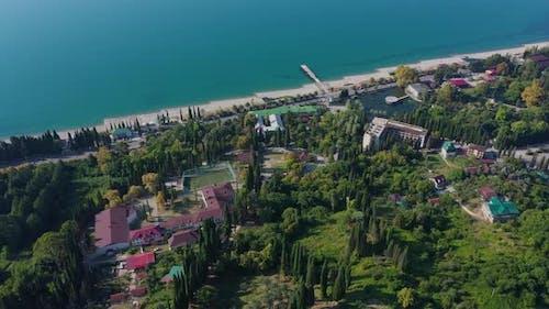 Aerovideo New Athos Novy Afon in Abkhazia