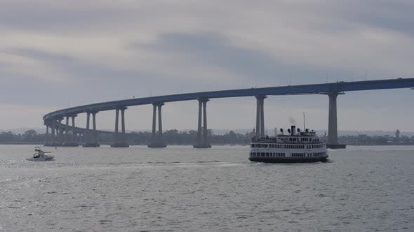 Sailing near the Coronado Bridge