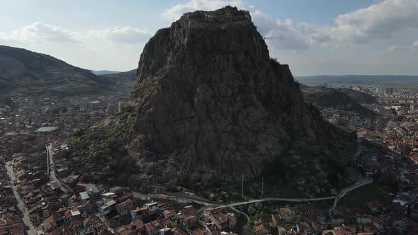 Imposing Castle Aerial View