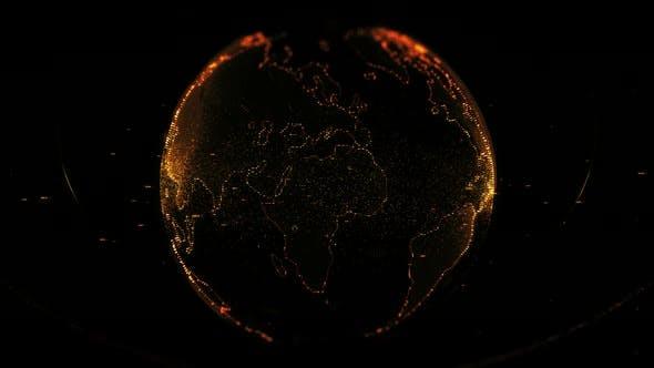 Thumbnail for Rotating Planet Earth