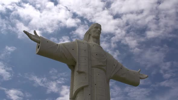 Thumbnail for Cristo de la Concordia statue of Jesus Christ located atop San Pedro Hil