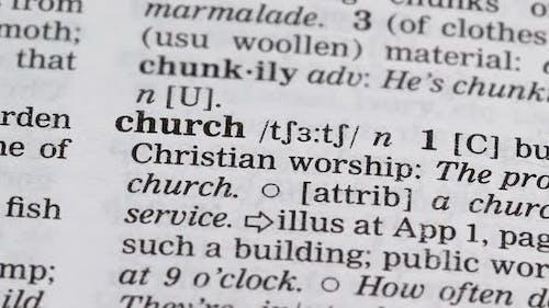 Kirche Bleistift Zeigedefinition