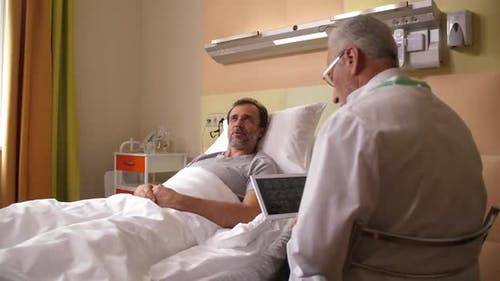 Patient Satisfied with Result of Brain Examination