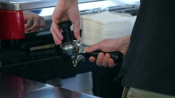 Thumbnail for Coffee Making Process From Automatic Coffee Machine