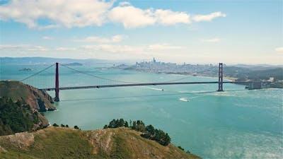 San Francisco, USA  - The San Francisco bay during the day