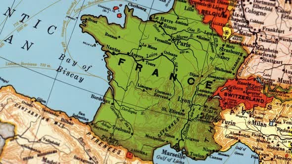 Thumbnail for France On World Map