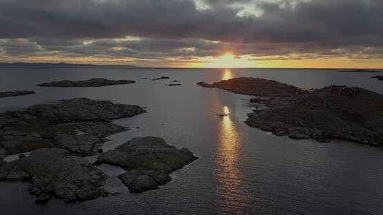Thumbnail for Breath Taking view of Sunset and Islets