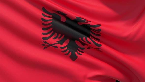 Thumbnail for The National Flag of Albania