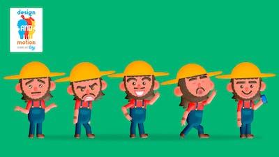D&M Character Kit Tiny: Farmer