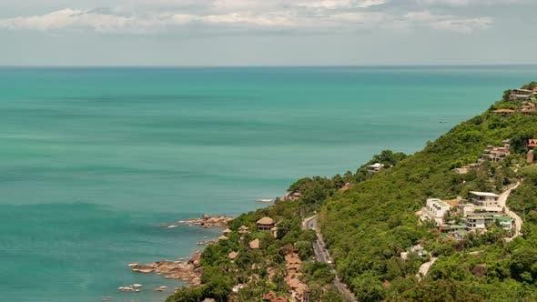 Thumbnail for Road on Sea Coast of Koh Samui, Thailand