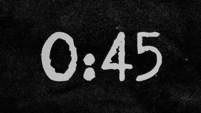 1 Minute Grunge Countdown