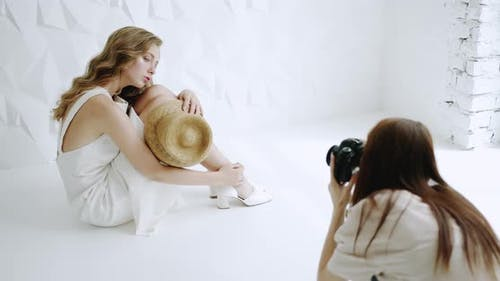 Photosession in Progress