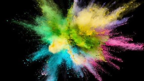 Colored Powder