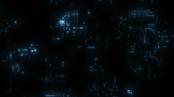 Chaotic Complex Technology Greeble Background