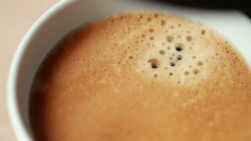 Slow motion Coffee maker