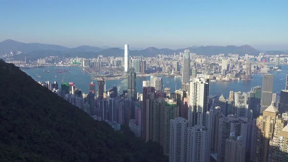 Thumbnail for Panorama of Hong Kong, View From Victoria Peak