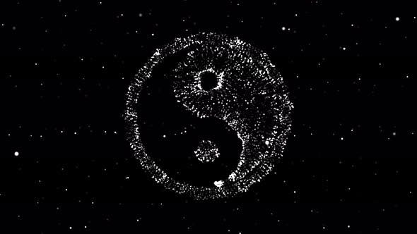 Thumbnail for Trapcode Form Yin-Yang Schwarz-Weiß Ver. 1