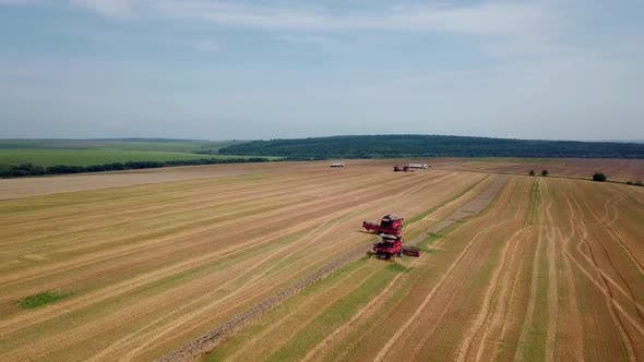 Thumbnail for Agricultural Machinery for Harvesting Grain