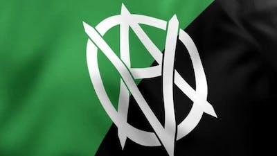 Veganarchism Flag