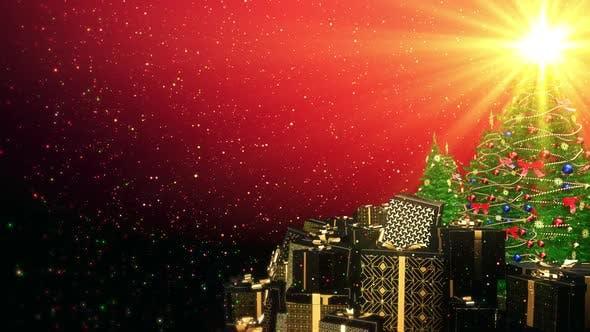 Thumbnail for Weihnachtsbaum Geschenkbox für Gatsby Style 05 HD