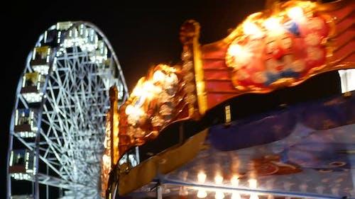 Ferris Wheel Dark Night