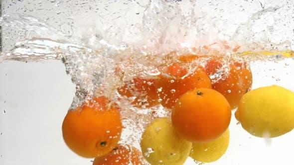 Lemon And Orange Dropping