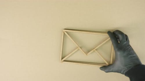 Lawsuit Papers and the Envelope Icon