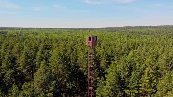 Thumbnail for High Landmark Wooden Tower Building in the Forest