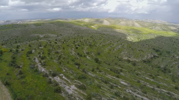 Thumbnail for Bird's-Eye View of Mediterranean Hilly Landscapes