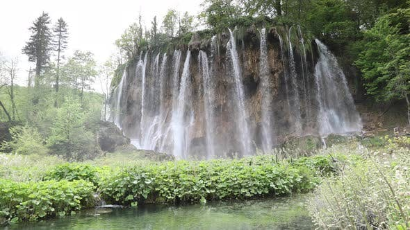 Cover Image for plitvice lakes waterfalls croatia rivers natural wonder