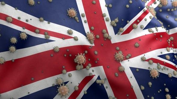 Covid UK Flag / Corona UK Flag