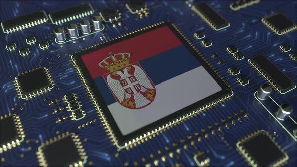 Thumbnail for National Flag of Serbia on the Operating Chipset