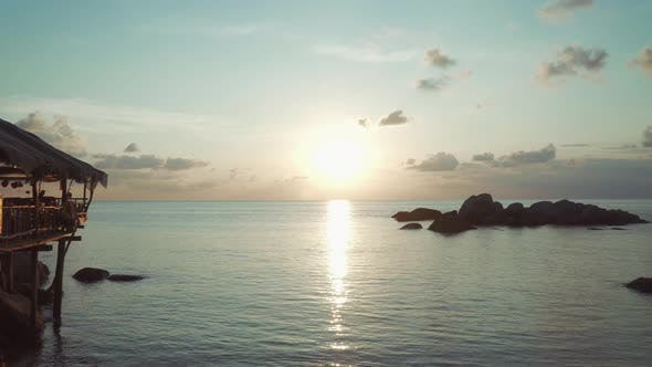 Cover Image for Sunset over Sea Sai Nuan Beach