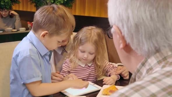 Thumbnail for Grandparents Learning Tablet with Kids