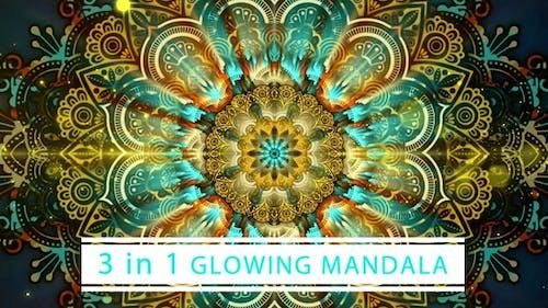 Glowing Mandala