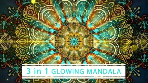 Thumbnail for Glowing Mandala