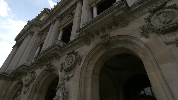 Thumbnail for Low angle of the Palais Garniers facade