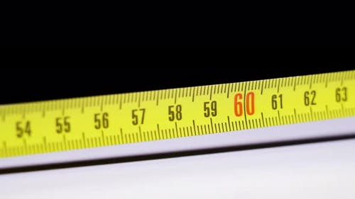 Measuring Tape Measure with Numbering