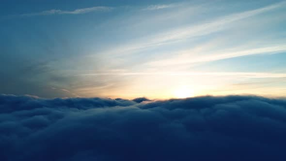 Cover Image for Flight Over Real Dusk Clouds
