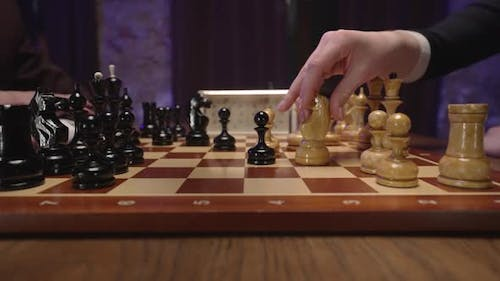 Accepted Queen's Gambit Chess Board