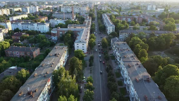 Streets Of The Old City From Above