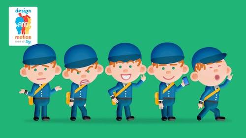 D&M Character Kit Tiny: Post Man