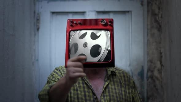 Film Reel Man.