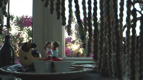 Lovers Toy Near The Window 1