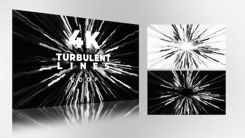 Turbulent Lines
