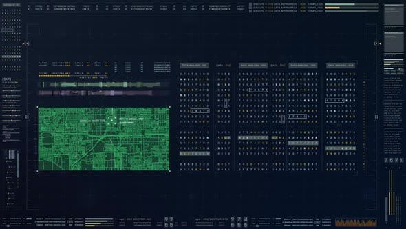Thumbnail for Futuristic Source Code Numbers 03