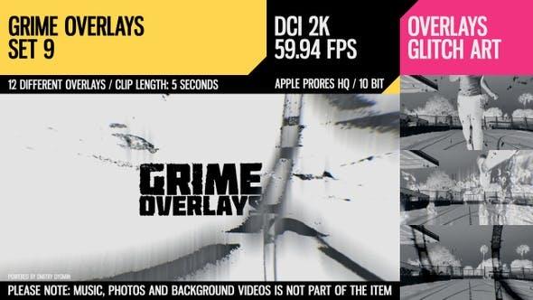 Grime Overlays (2K Set 9)
