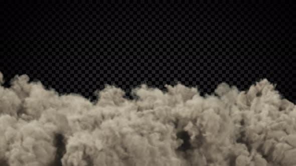 Dust Puffs On Half Screen