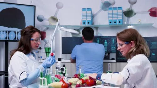 Genetically Engineered Food Laboratory